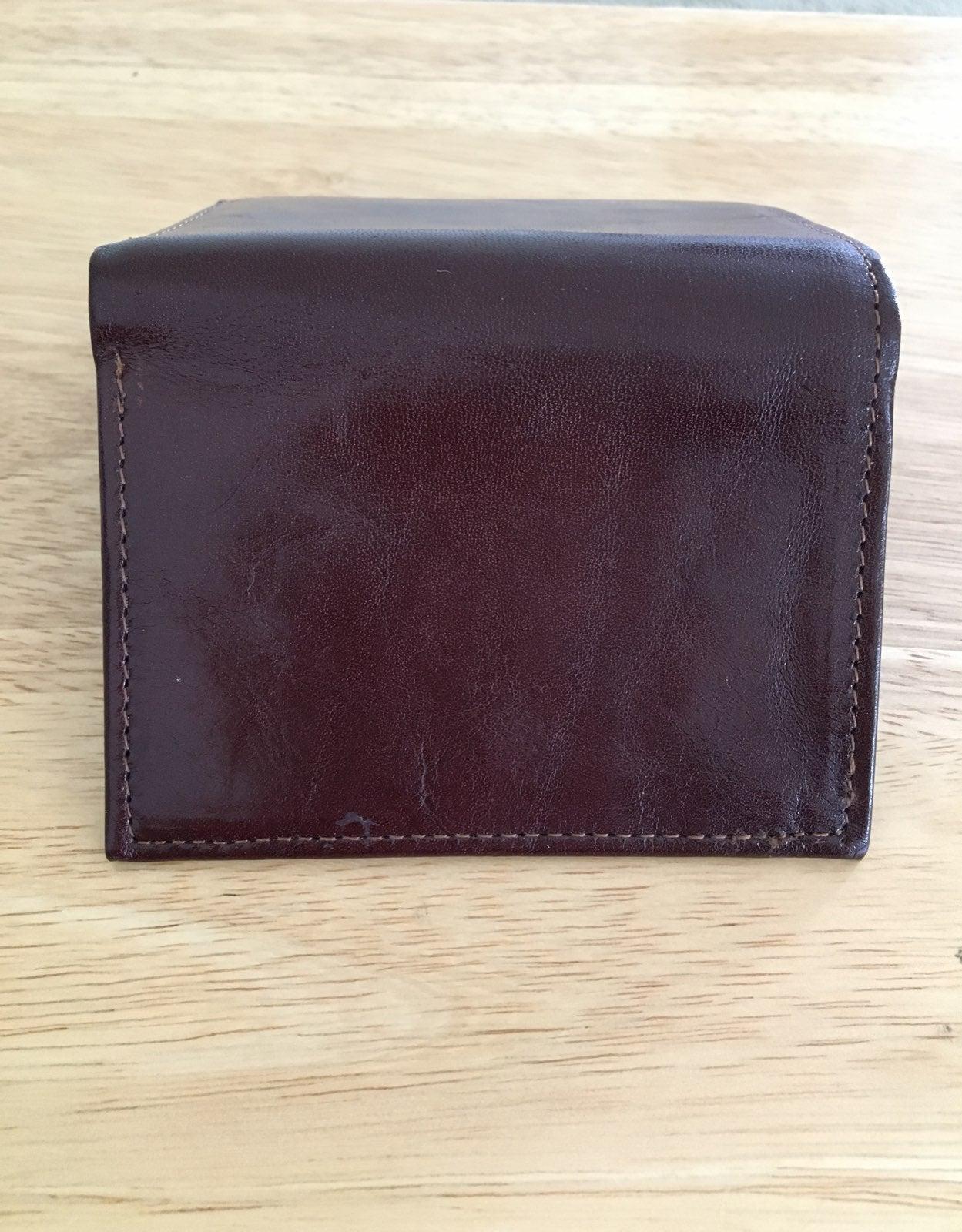 George Leather Wallet Italian Leather NE