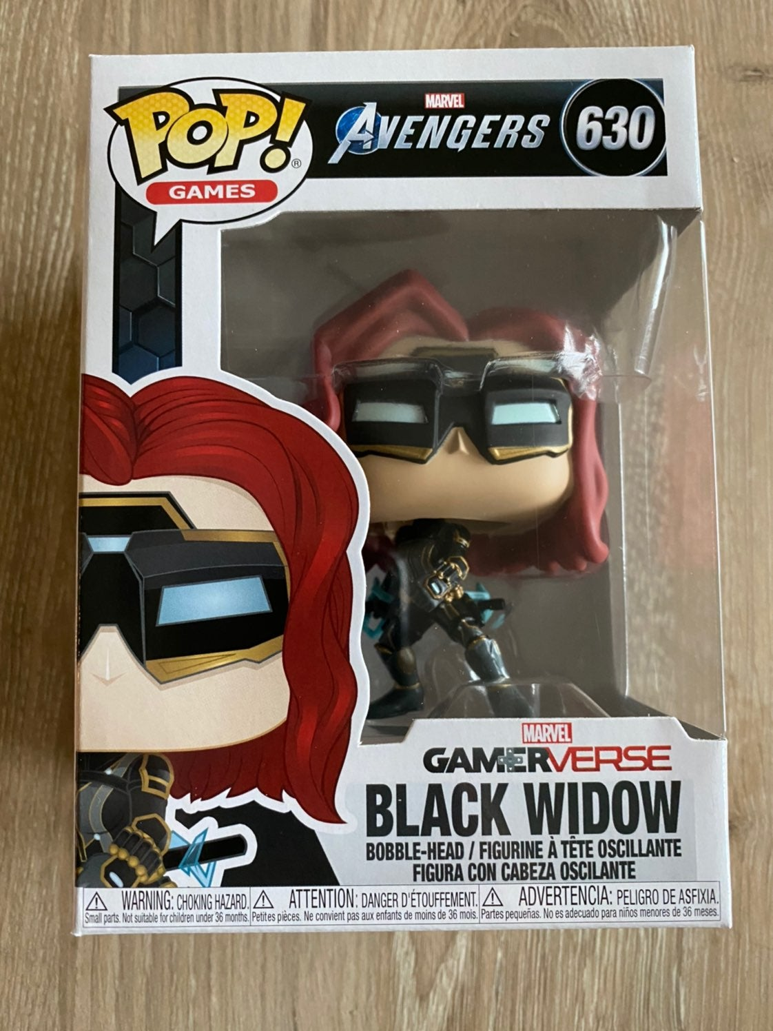 Funko Pop Avengers Gamerverse Black Wido