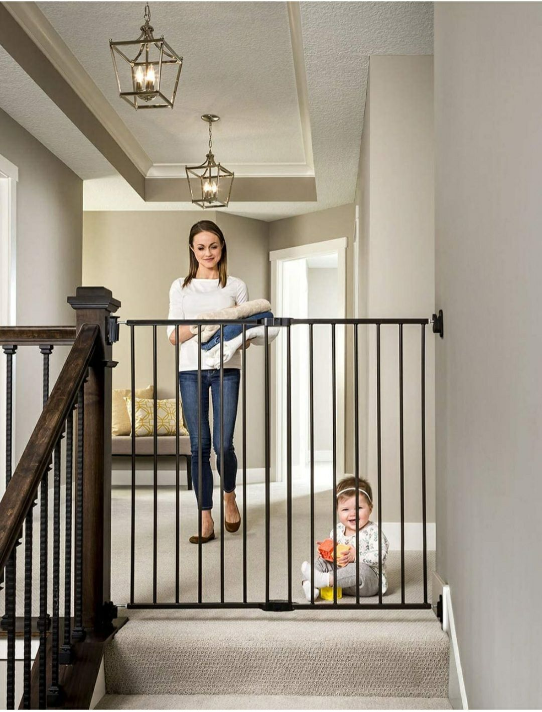 Regalo 2-in-1 Extra Tall baby gate