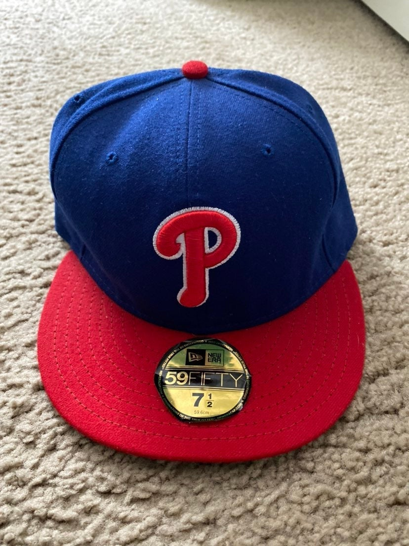 59Fifty Phillies Fitted Size 7 1/2