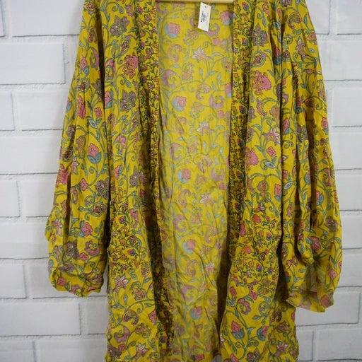 World Market Boho Cotton Kimono Spa/Pool