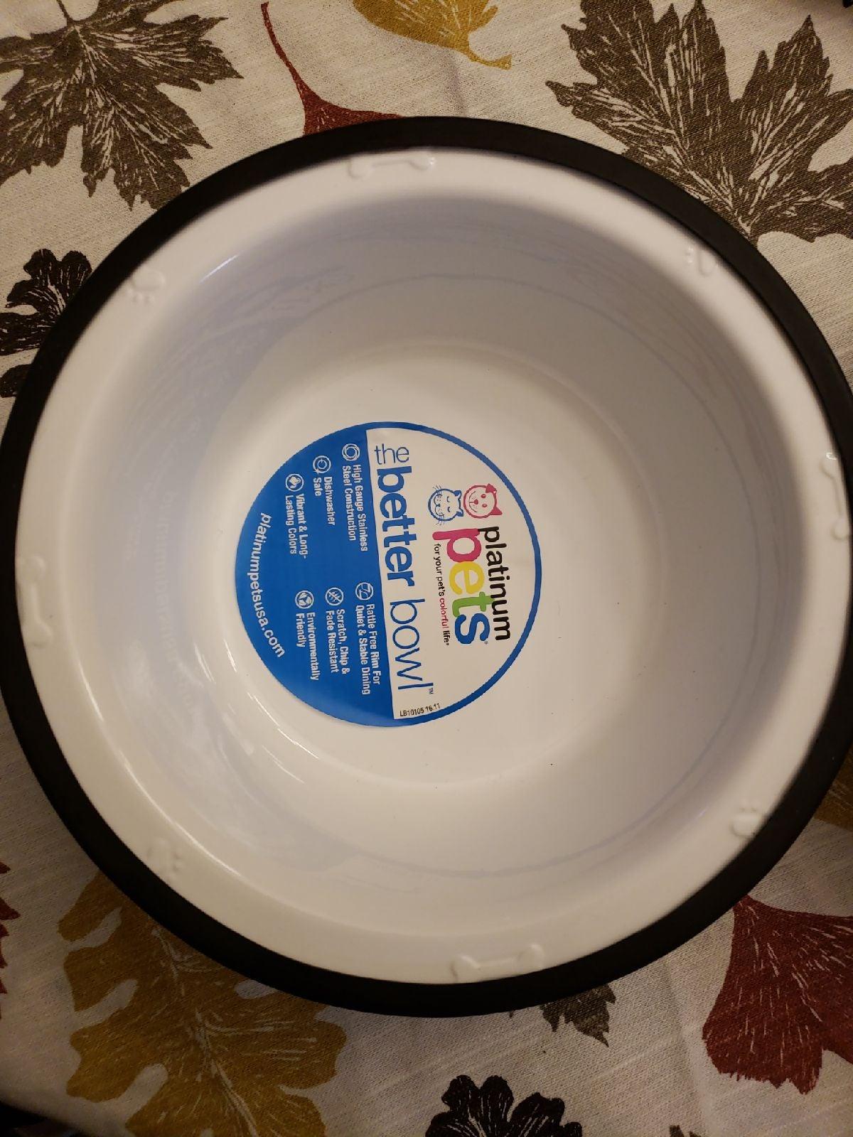 Platinum Pet Bowls