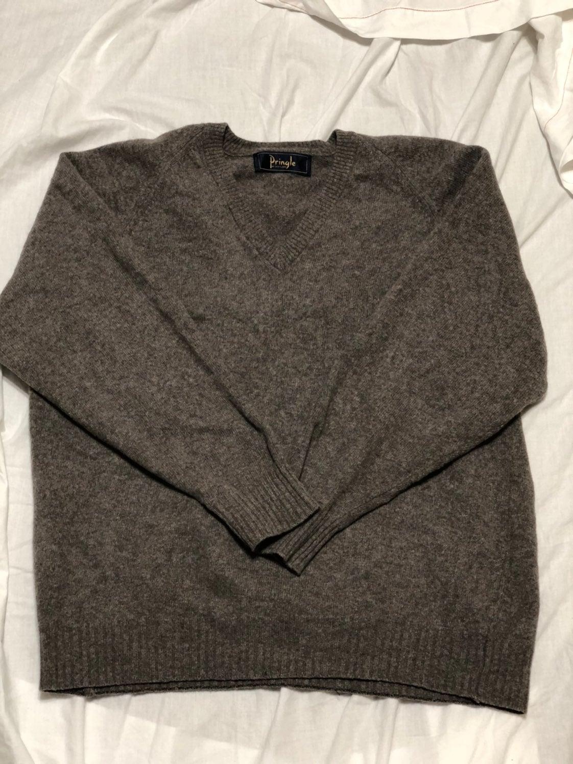 100% lambs wool pringle sweater