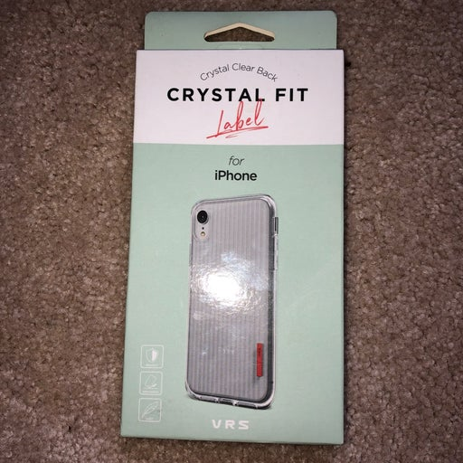 Crystal fit iphone case