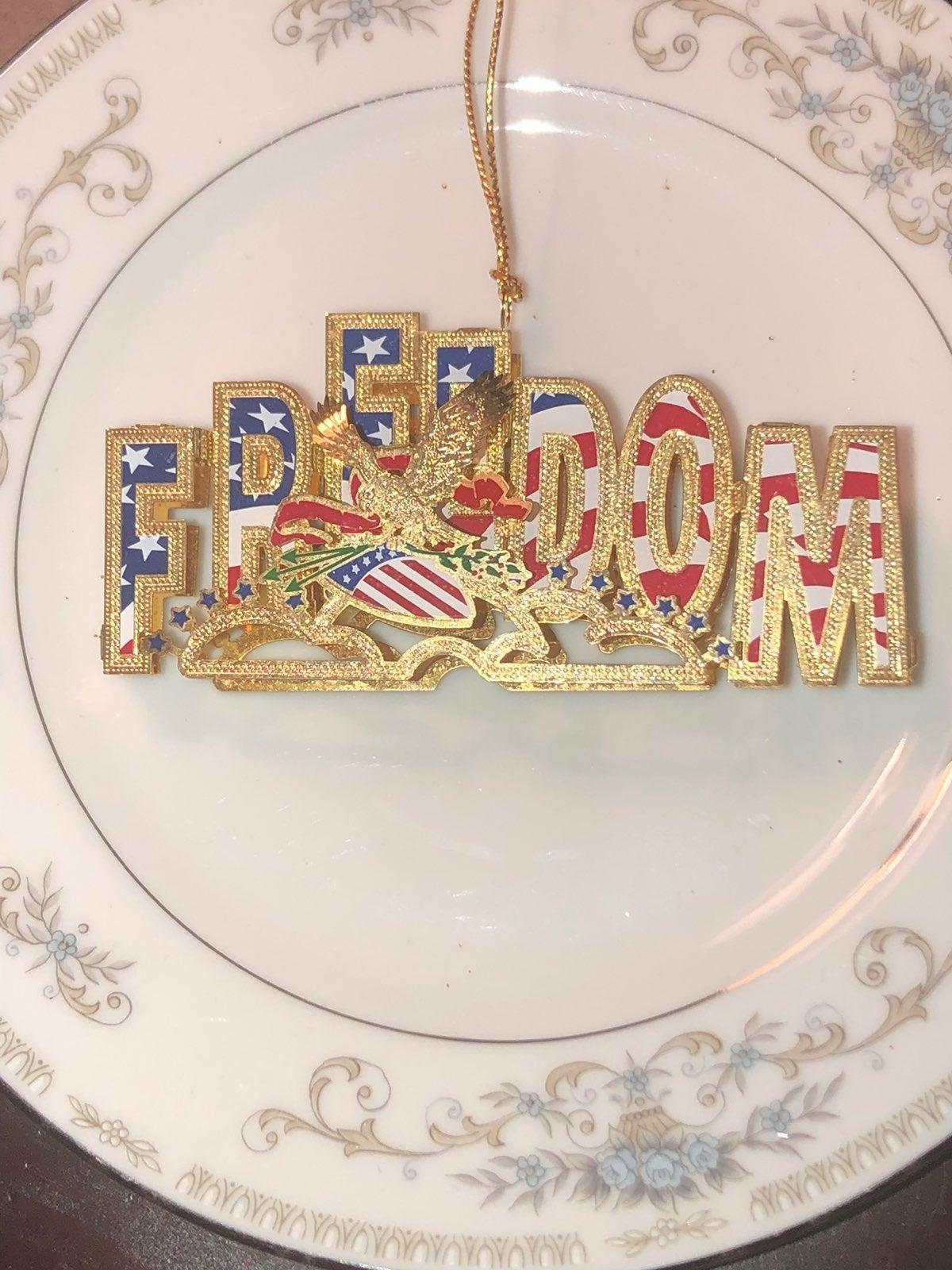 3D USA Freedom Ornament