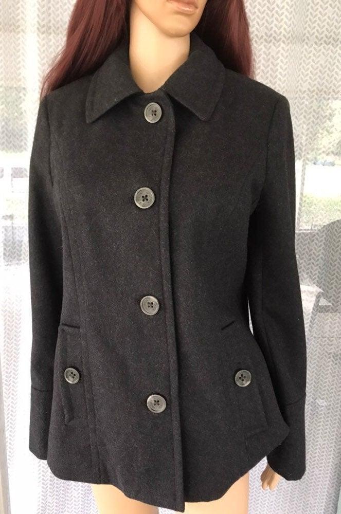 Nautica dark gray Coat size M