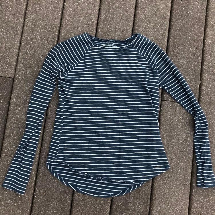 Hollister long sleeve striped top