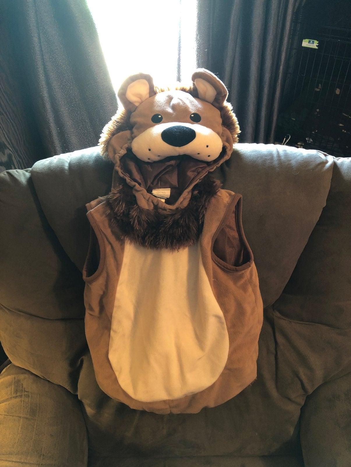 Lion Costume, size 18/24 months