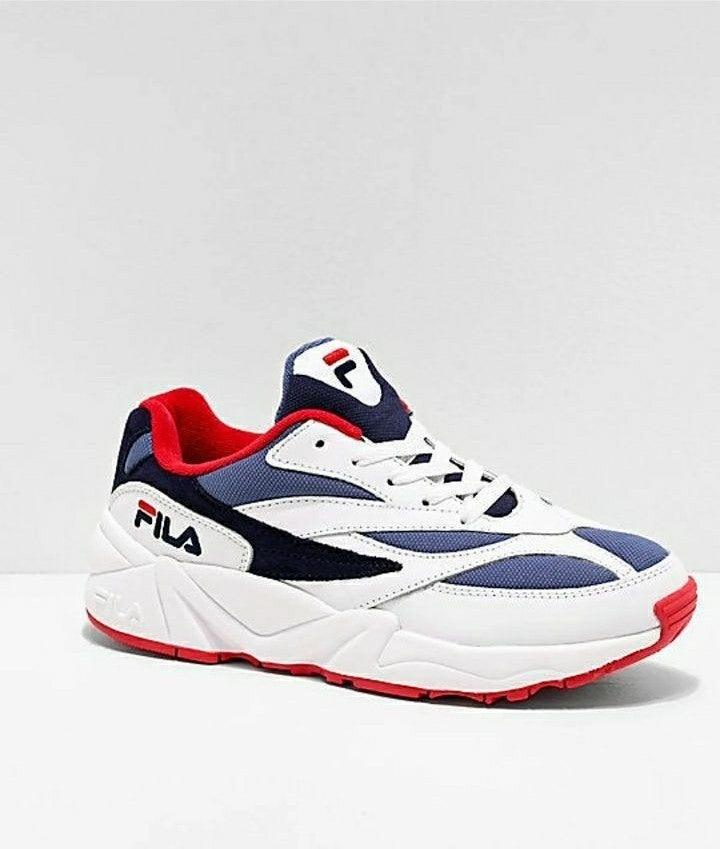 FILA V94M Red, White & Blue Shoes 7.5