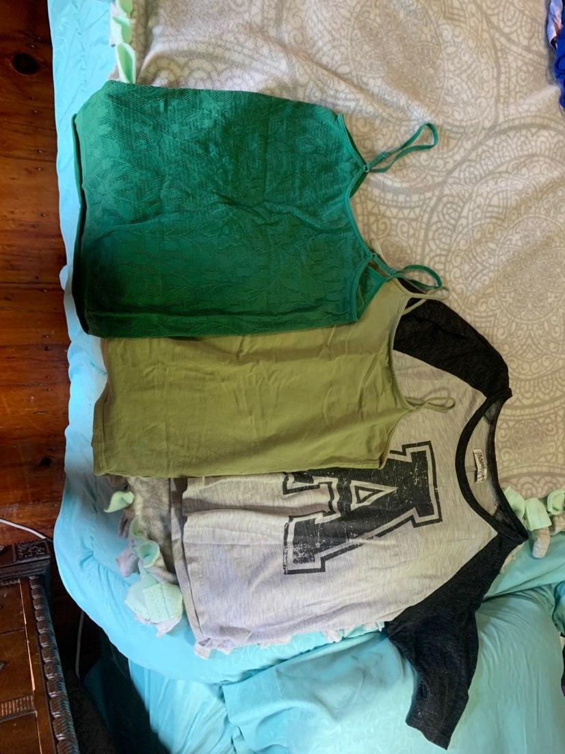 Tank top and shirt bundle