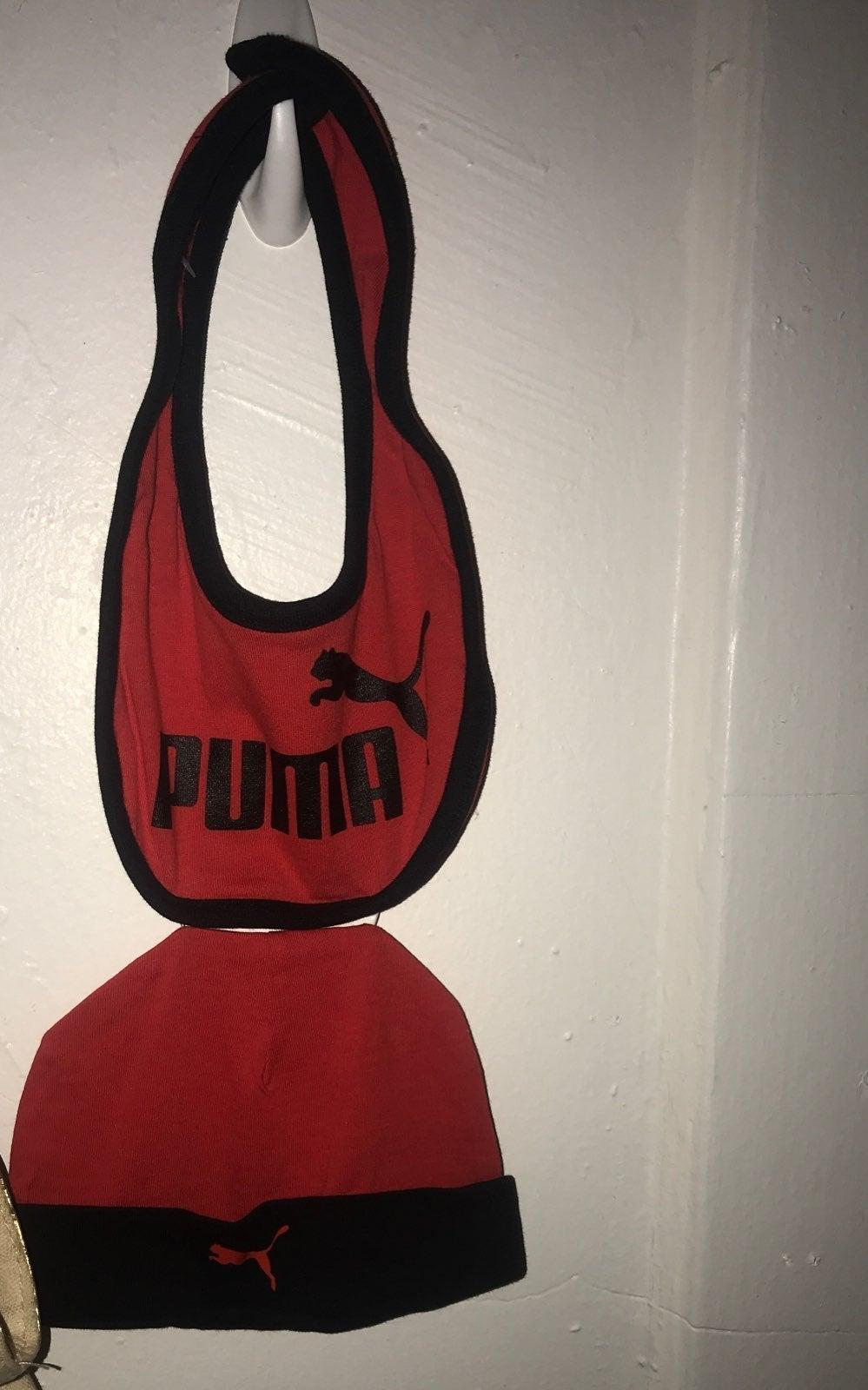 Puma Hat & Bib set