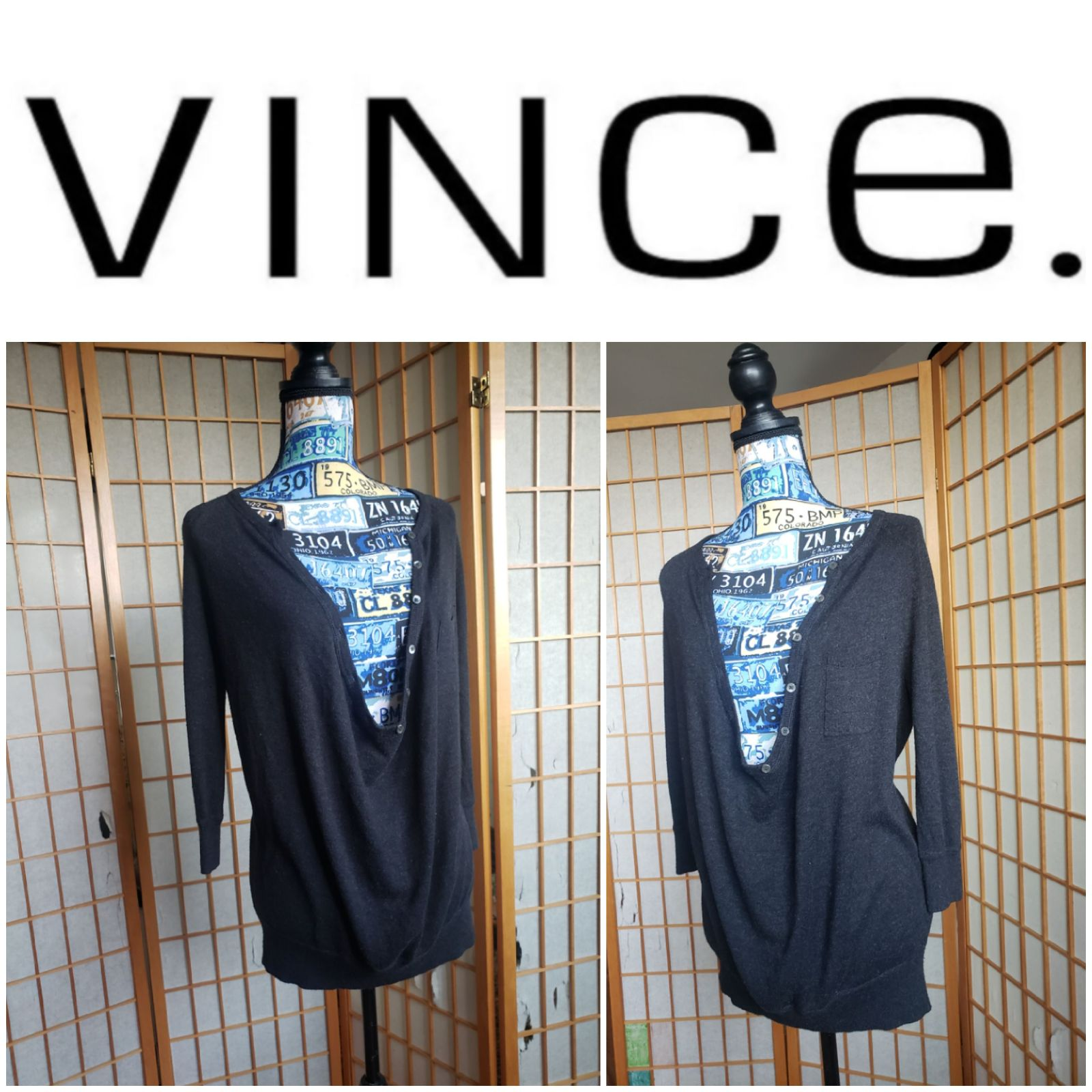 Vince. Cashmere Sweater size small