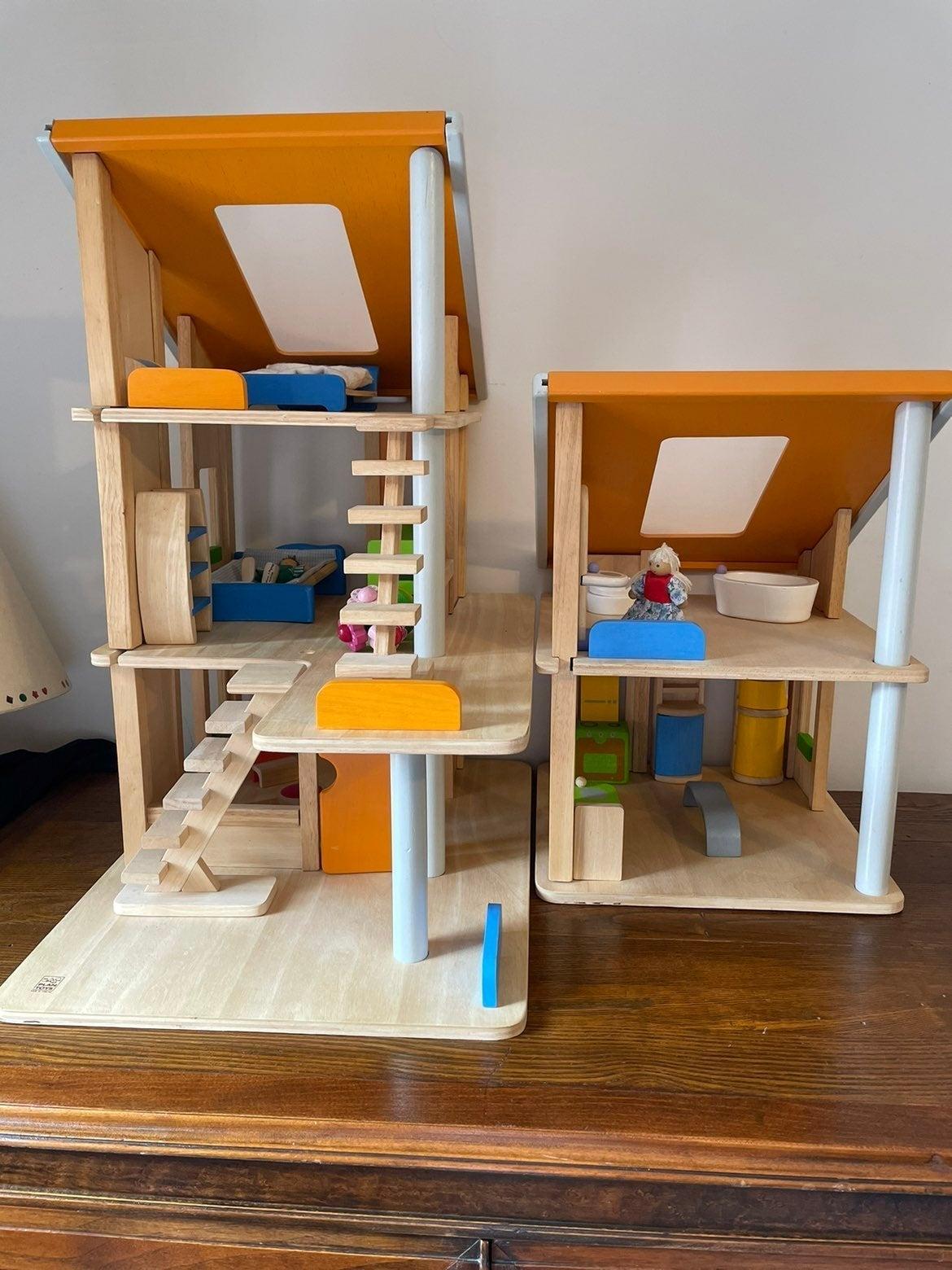Plan Toys Wood Dollhouse