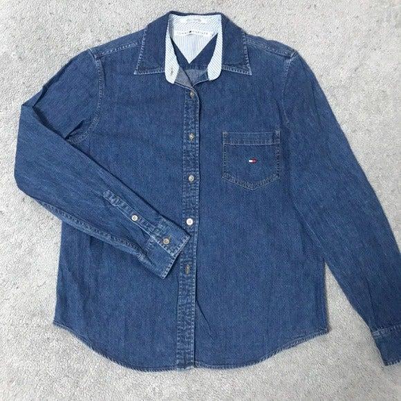 Tommy Hilfiger Denim Jacket Medium Wash