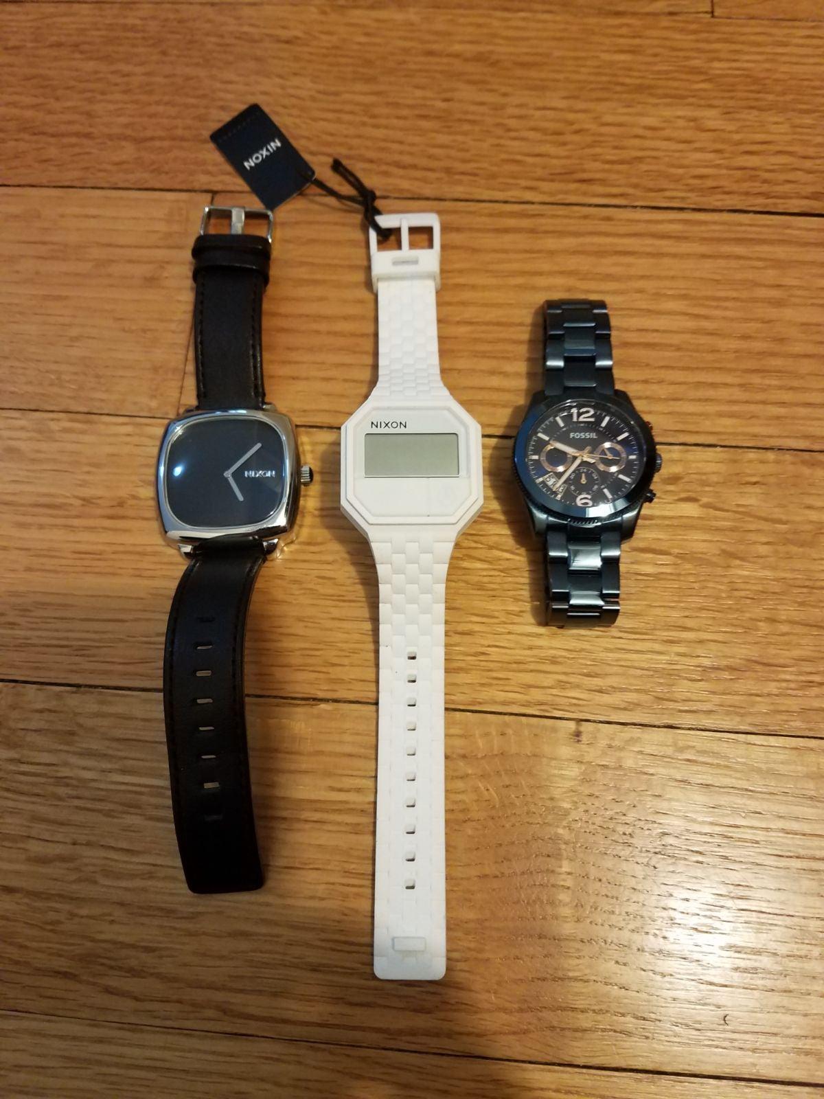 3 wristwatches