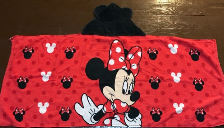 Disney Minnie.mouse kids towel
