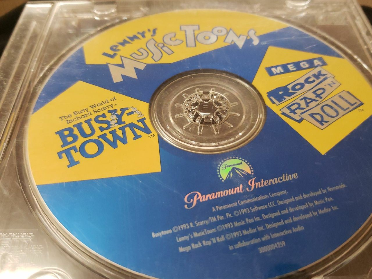 Lenny music tools cd