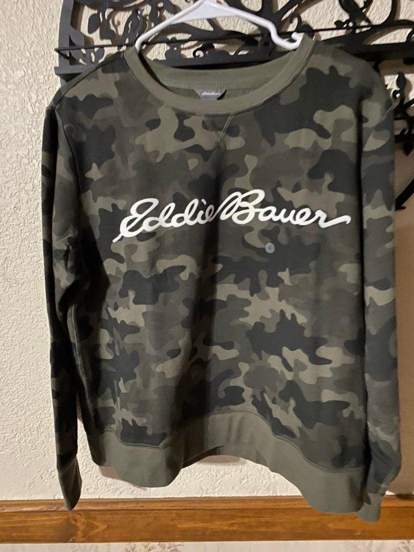 Eddie Bauer sweater camo