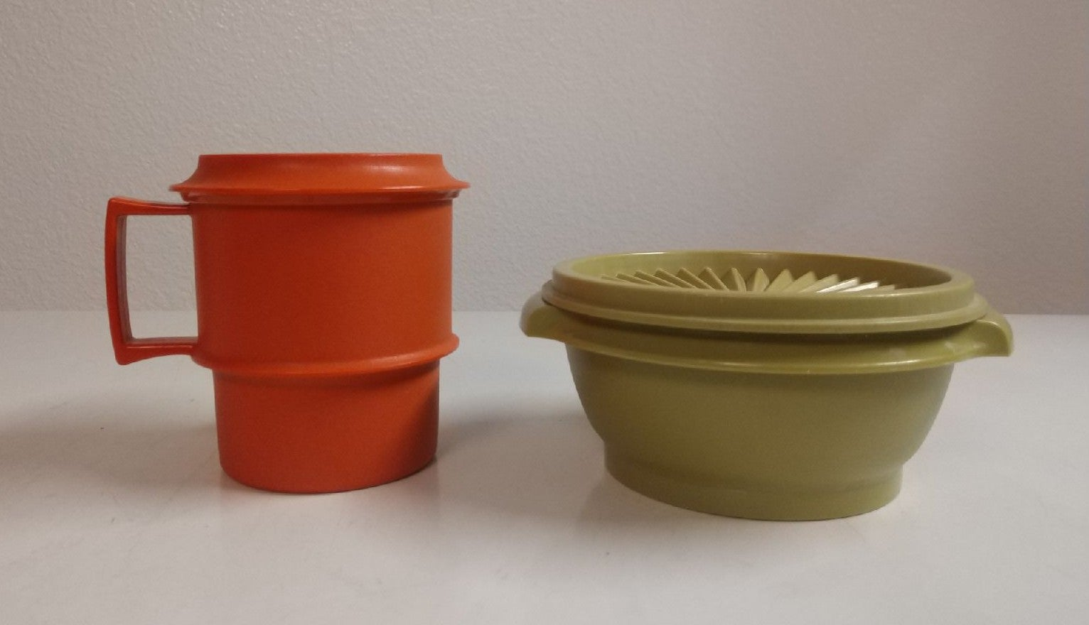 Tupperware Container and Cup