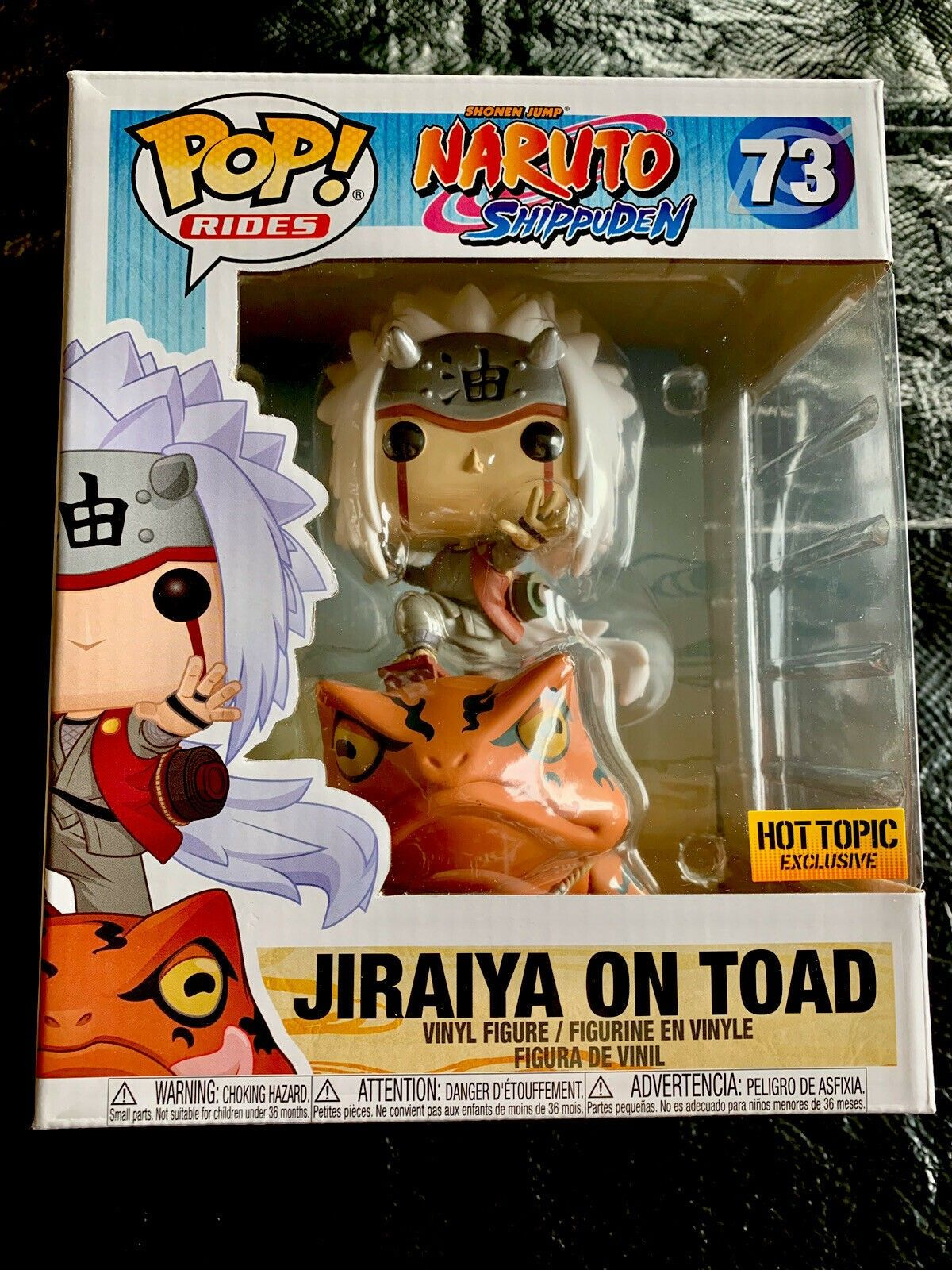 Jiraiya on Toad Funko Pop