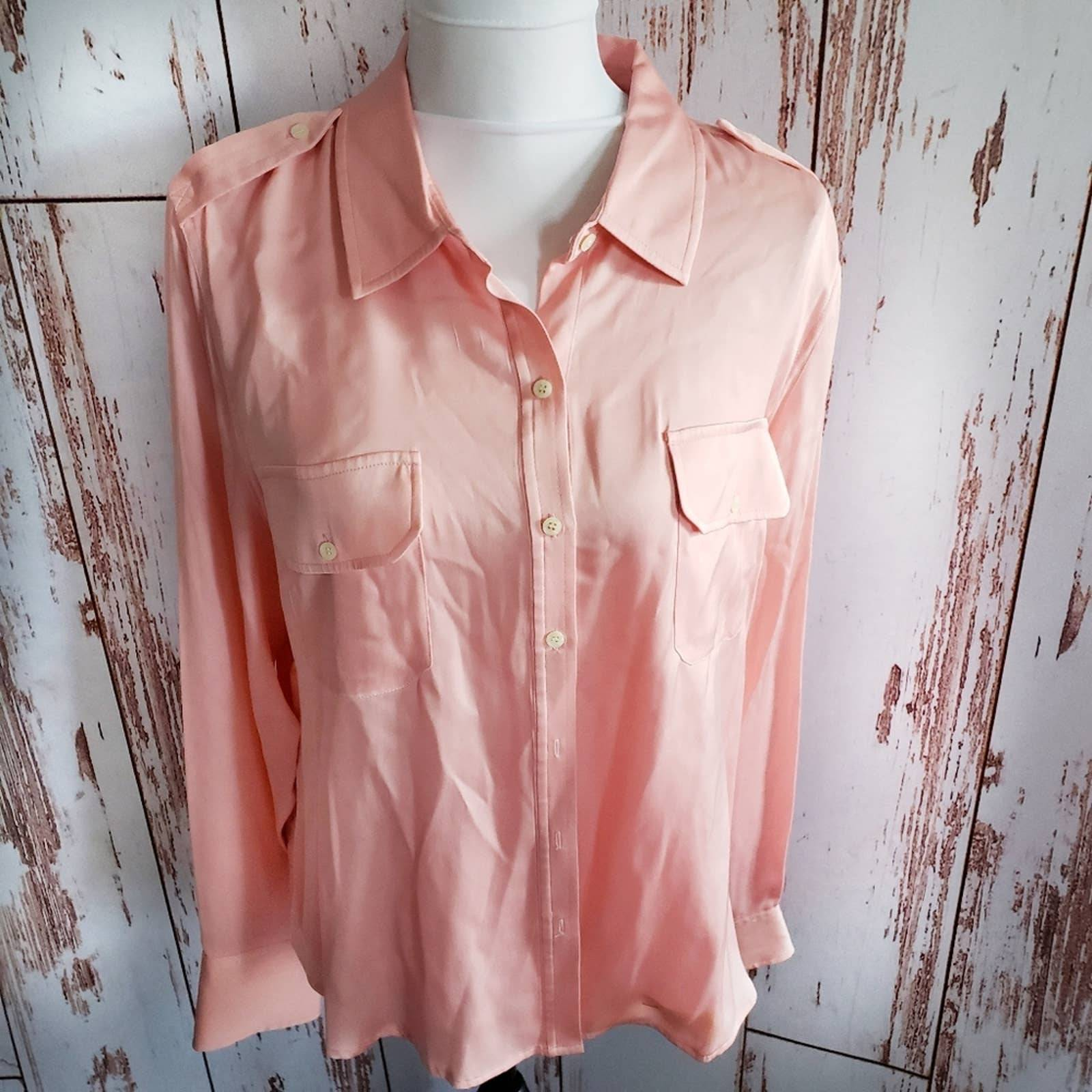1940s silk top vintage embroidered shirt silk button down 1950s silk blouse tuni vintage silk shirt pink silk top vintage silk pajama