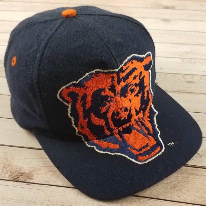 VTG 90s Chicago Bears Big Logo Style Hat