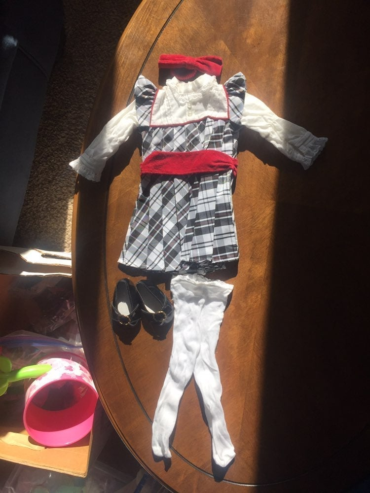 American Girl Nellie's Holiday Outfit Re