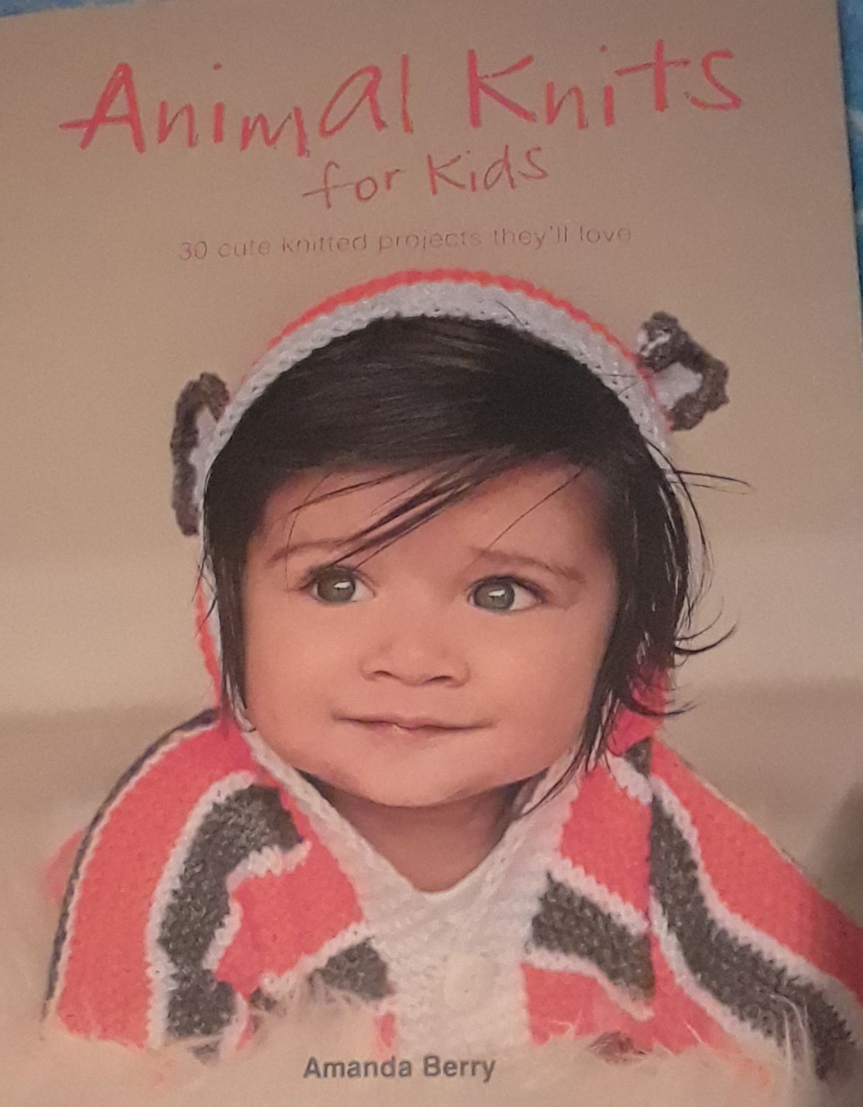 Knitting Book with Animals for Children