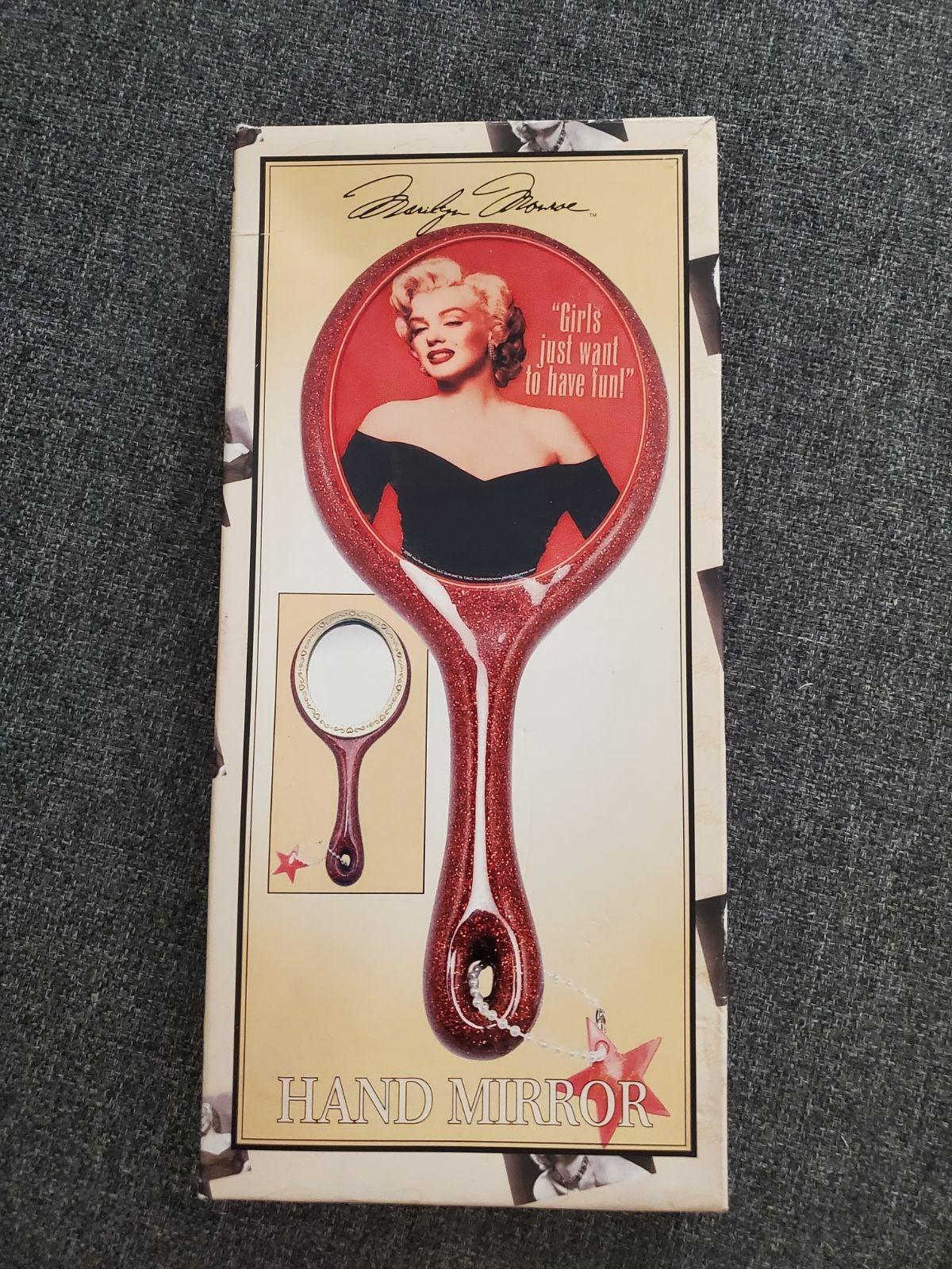 Marilyn Monroe hand mirror