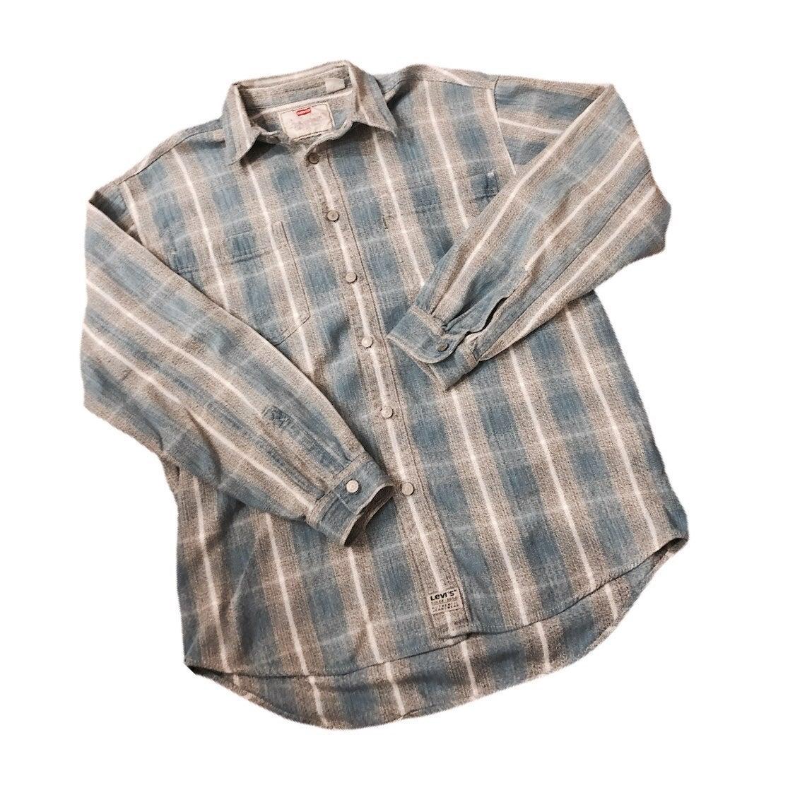 Vintage Levi Cotton Shirt Jacket unisex