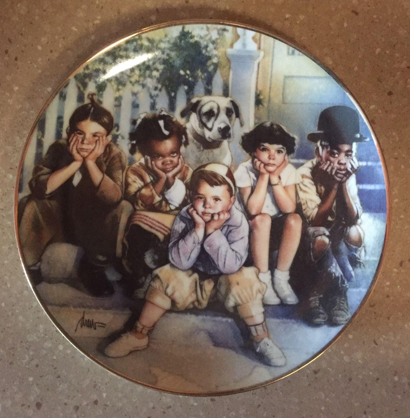 The Little Rascals Porcelain Plate