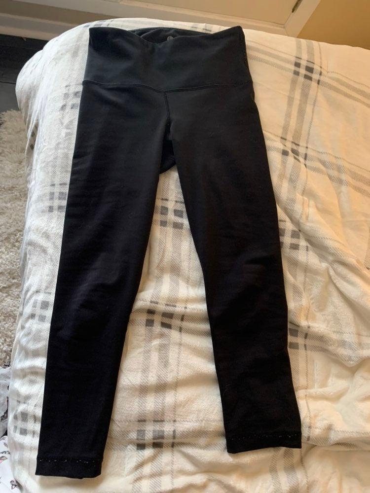 Black 90 degree leggings