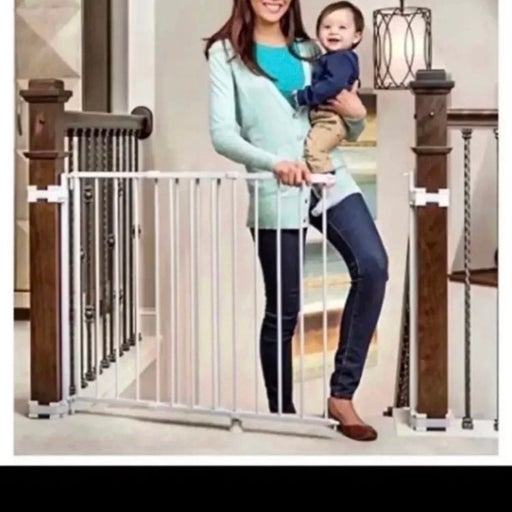 Regalo 2-in-1 Stairway and Hallway Gate