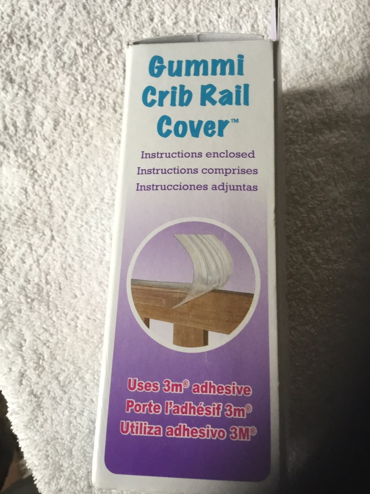 Kidkusion crib rail cover