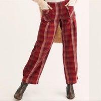 Free People Twill Casual Pants Mercari