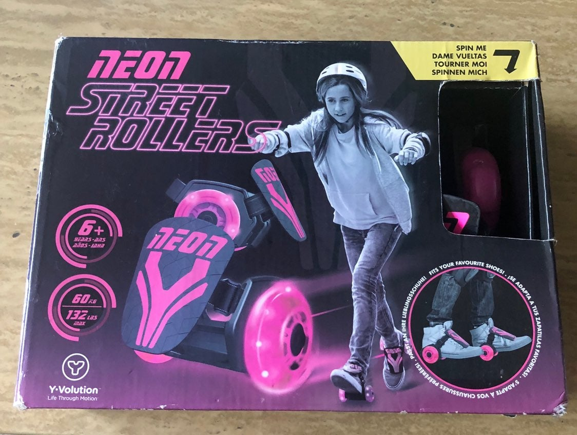 Neon Street Rollers