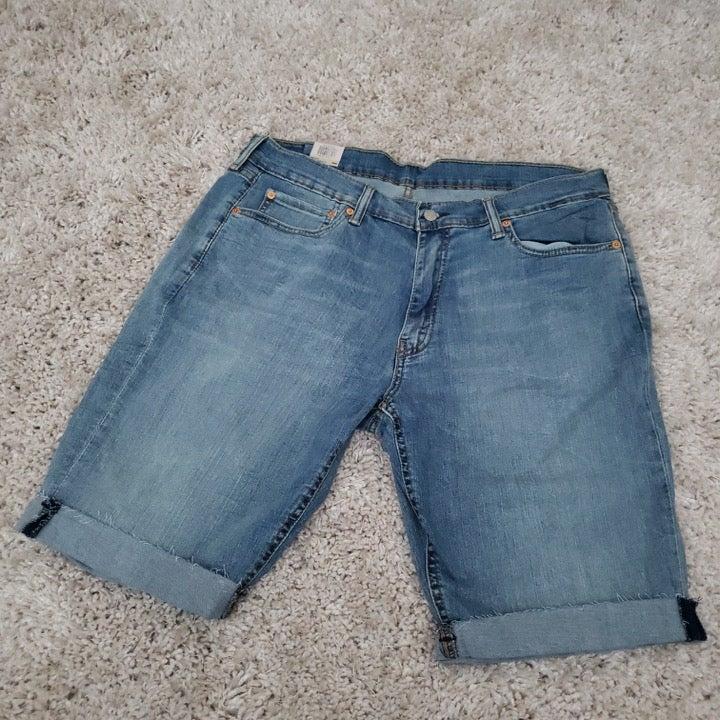 LEVI'S light blue 511 Slim Shorts (32)