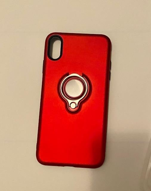 IPHONE CASE  XS MAX-  RED