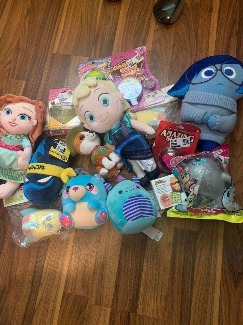 Toys! Plushies! Frozen! Ninja!