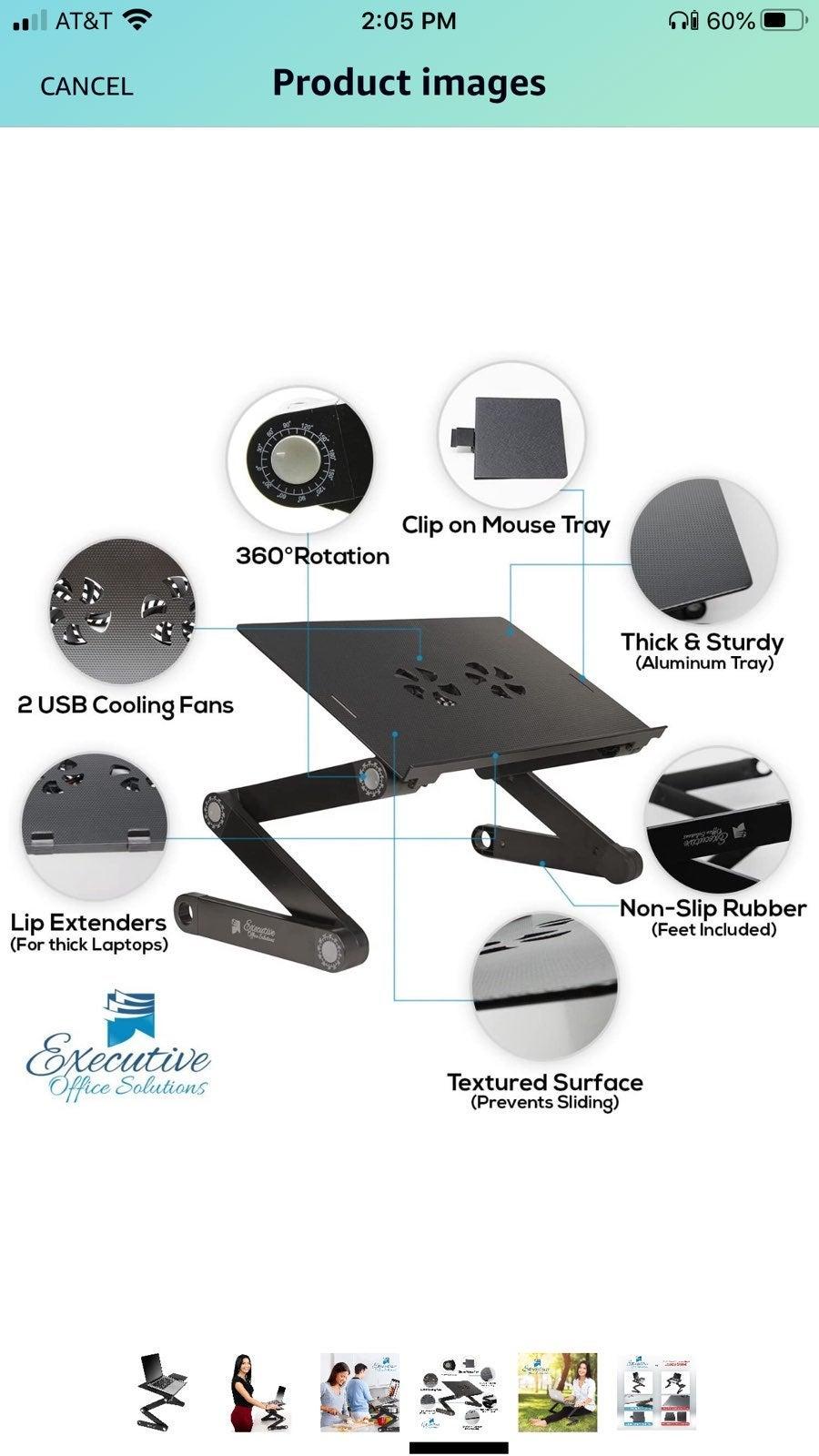 Executive Office Solutions Portable Adju