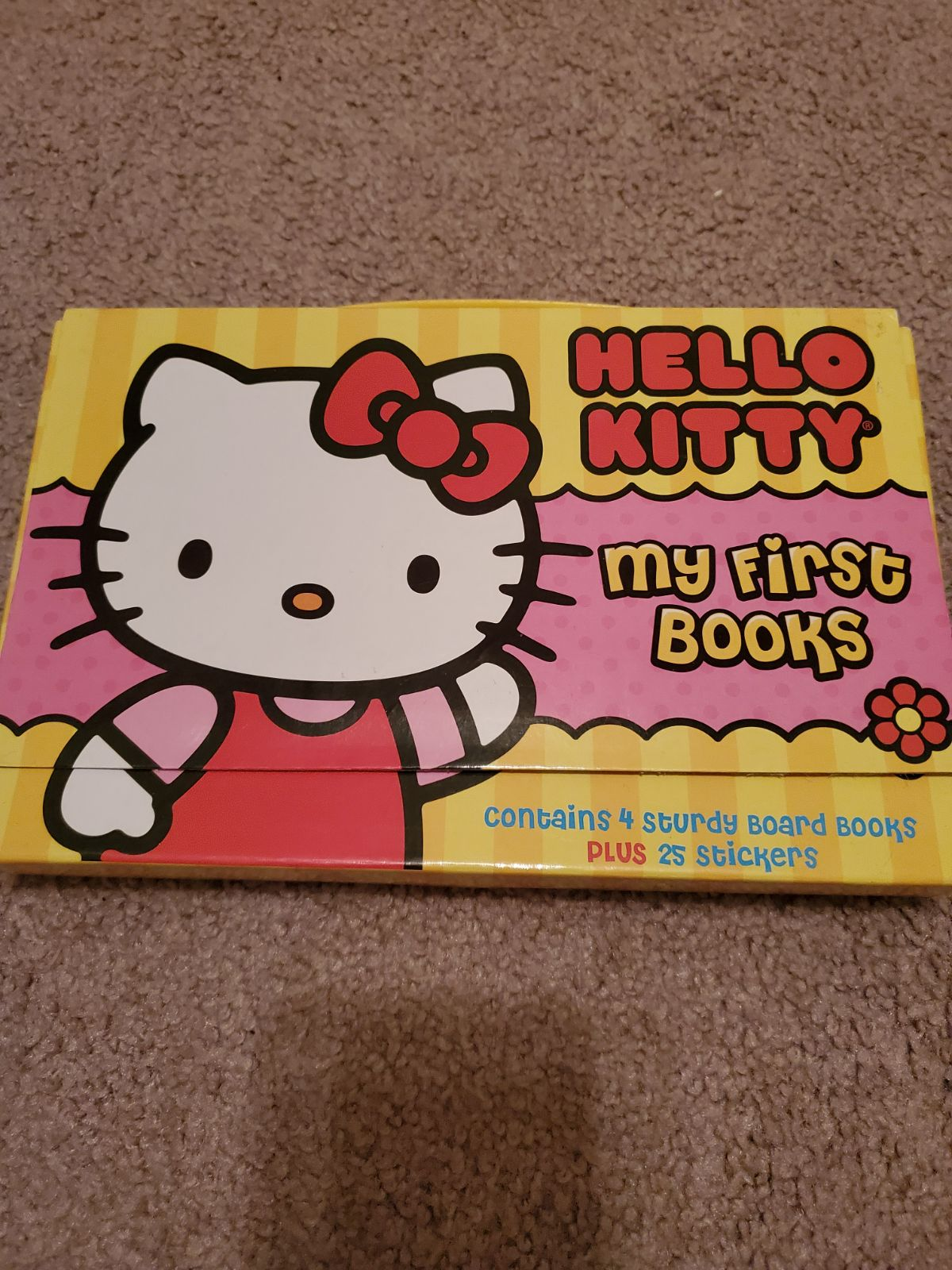 Hello kitty my first books