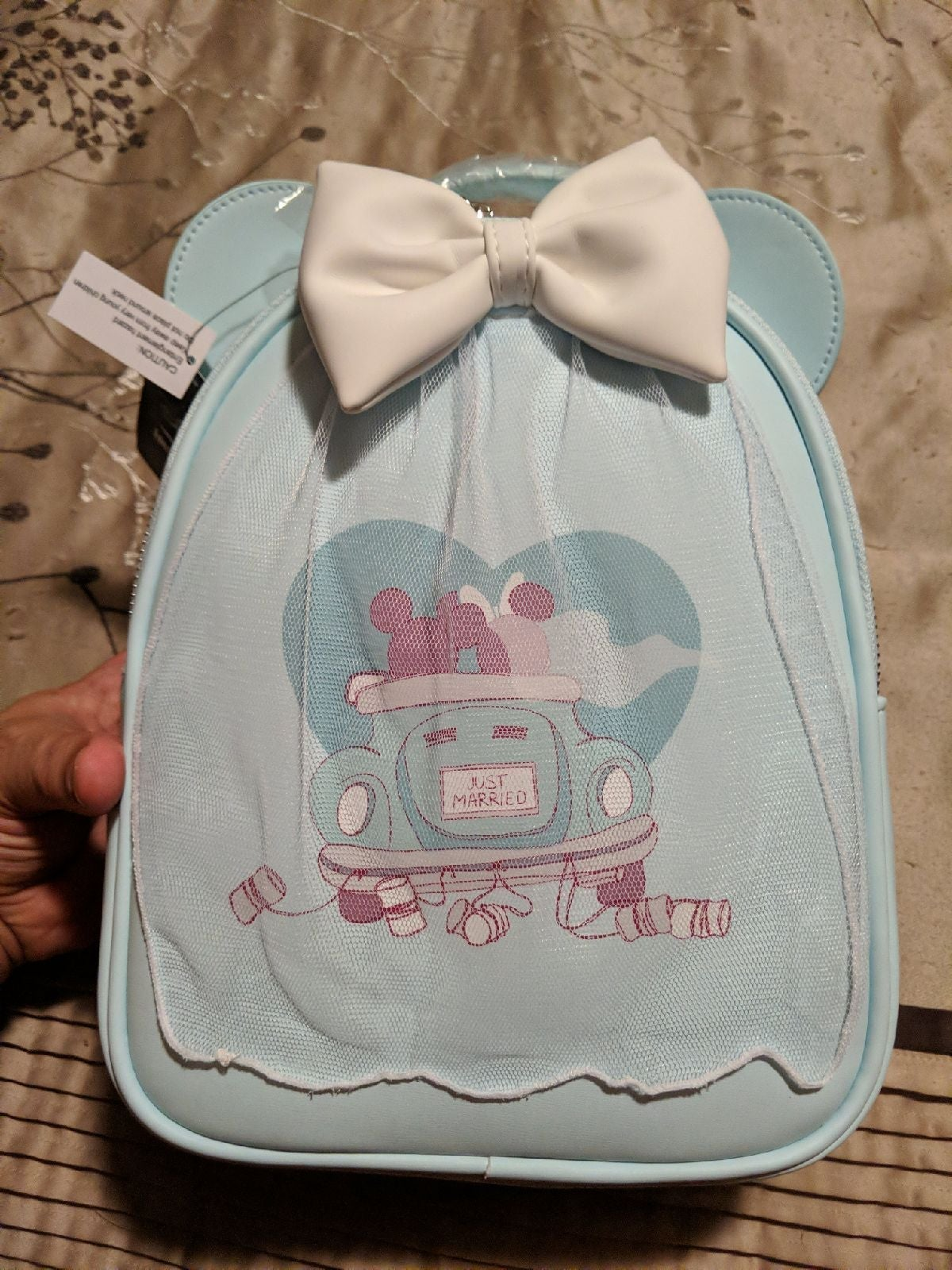 Loungefly Just Married Mickey Backpack