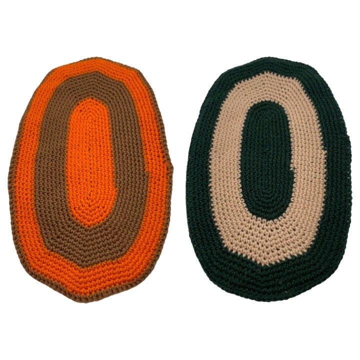 VTG Crocheted Pot Holder-Crochet Hot Pad