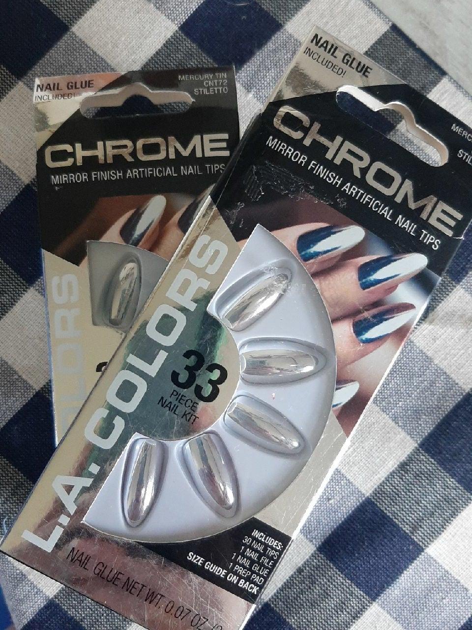 2 NWT Artificial nail sets