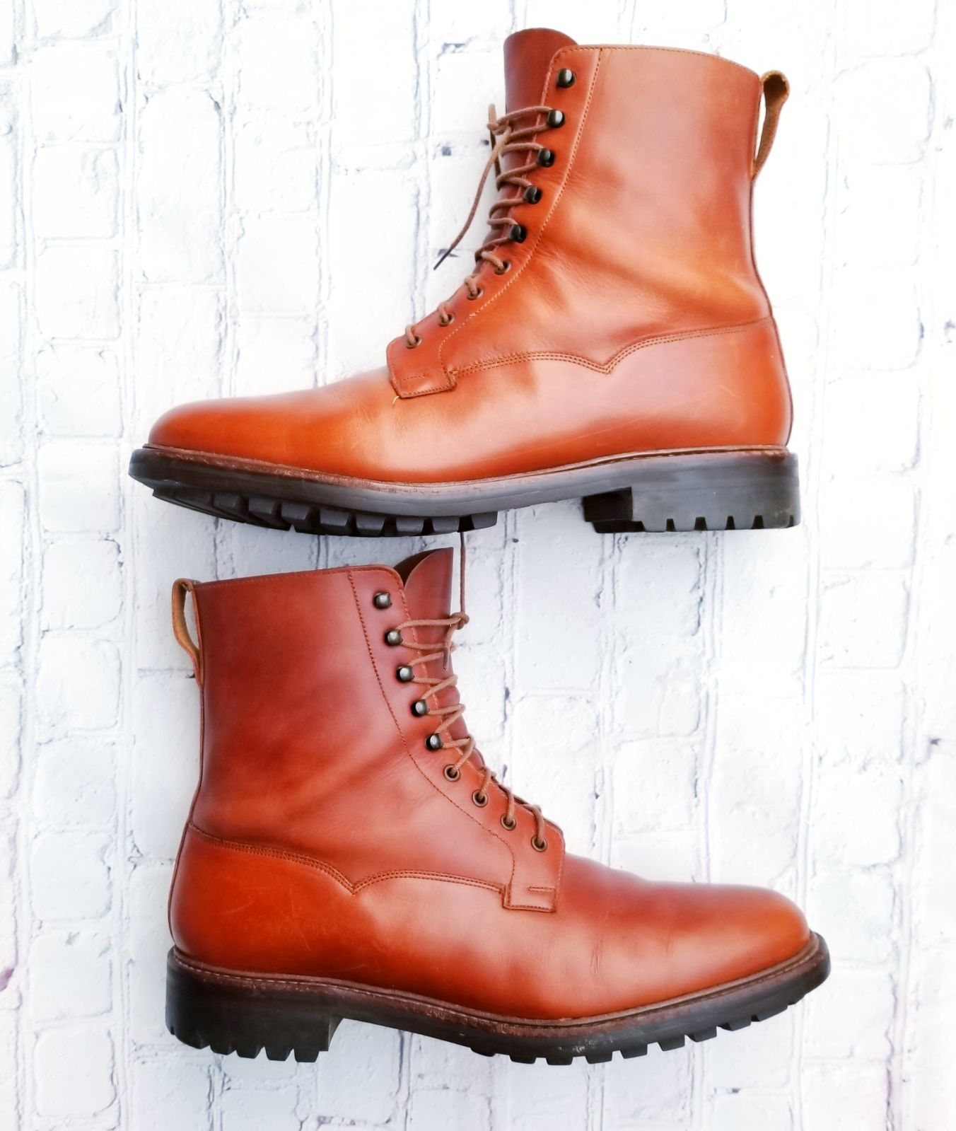 Brooks Brothers Peal & Co. Leather Boots