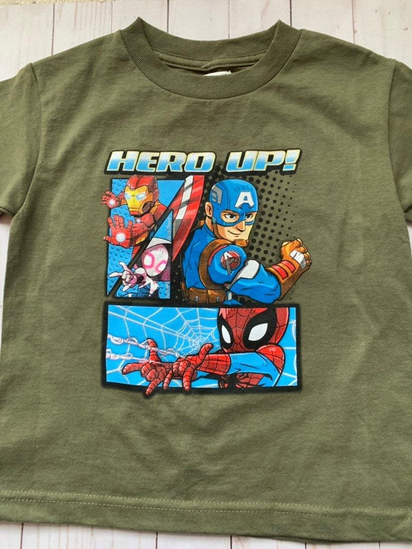 Super hero T- shirt 5T