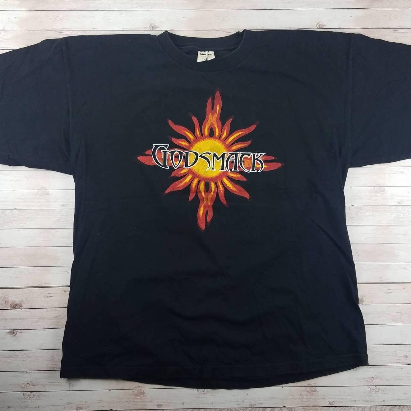 VTG 90s Godsmack Murina Band Tee Shirt