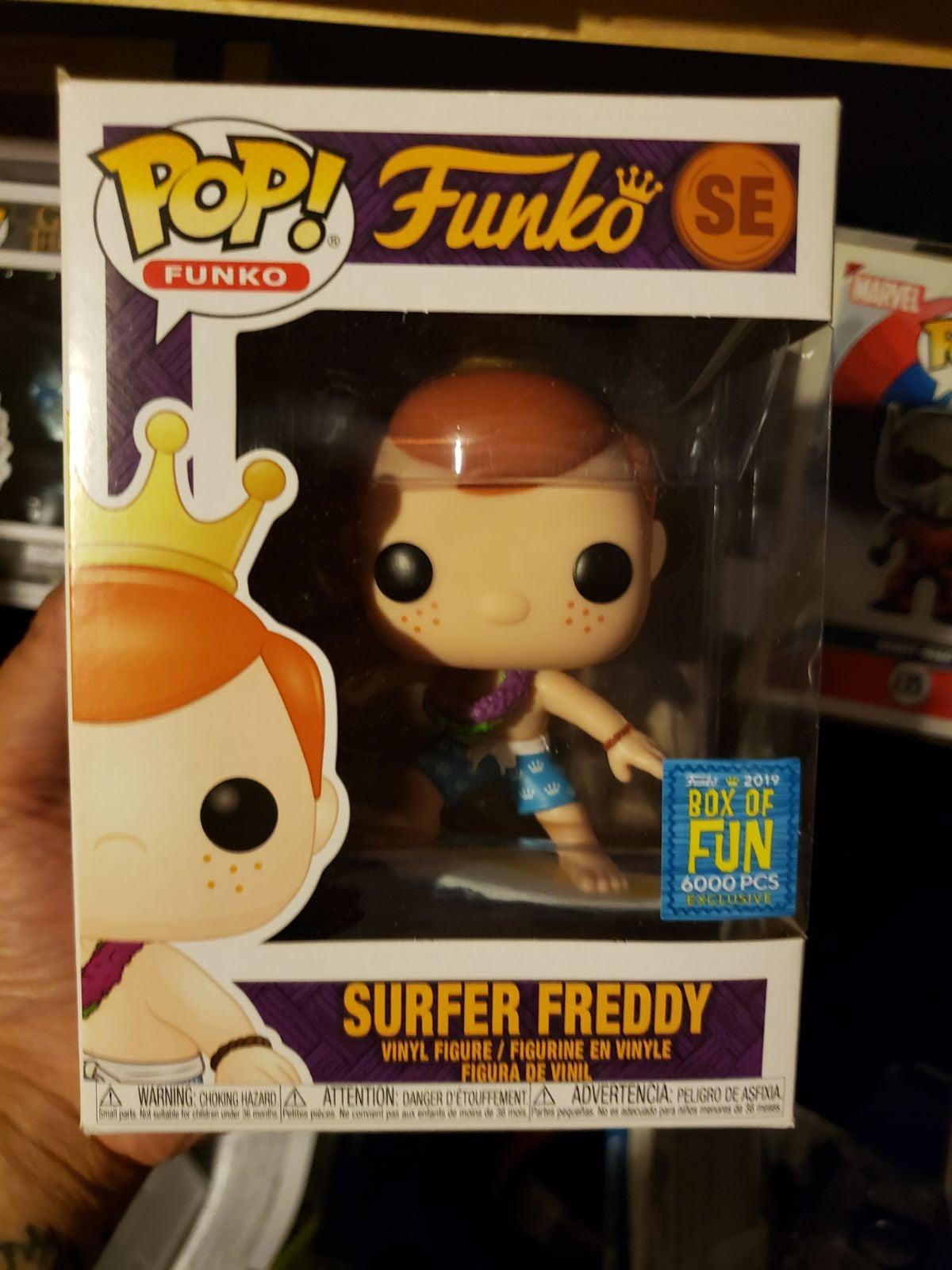 Funko Pop Surfs Up Freddy