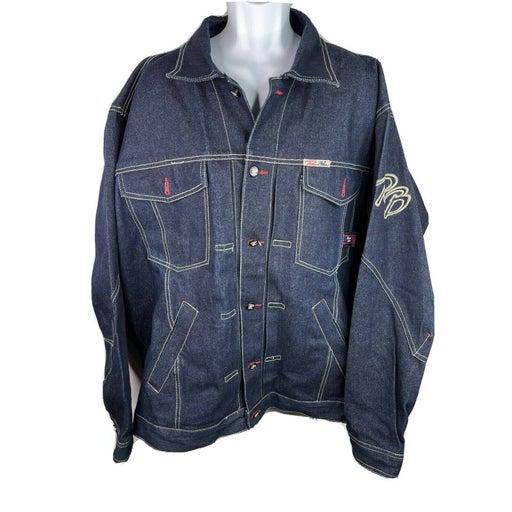 Raw Blue Rugged Wear XL Jean Jacket
