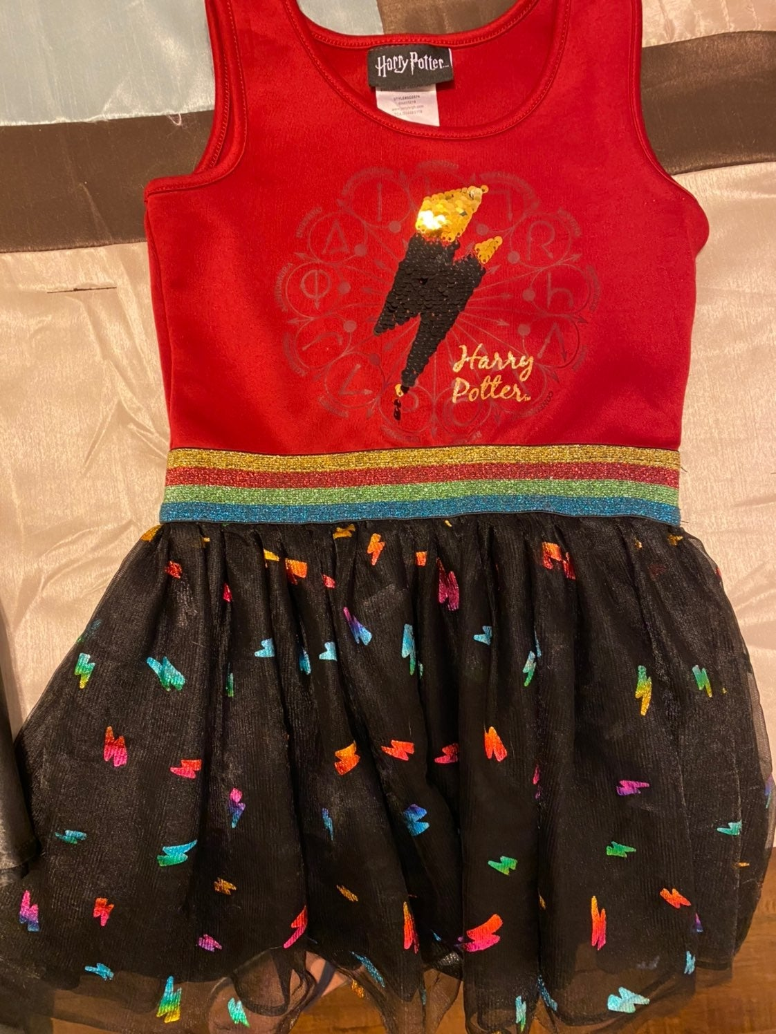 Harry Potter Dress-size 4-5 Toddler